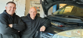 Friends get revved up to revive a Timperley garage