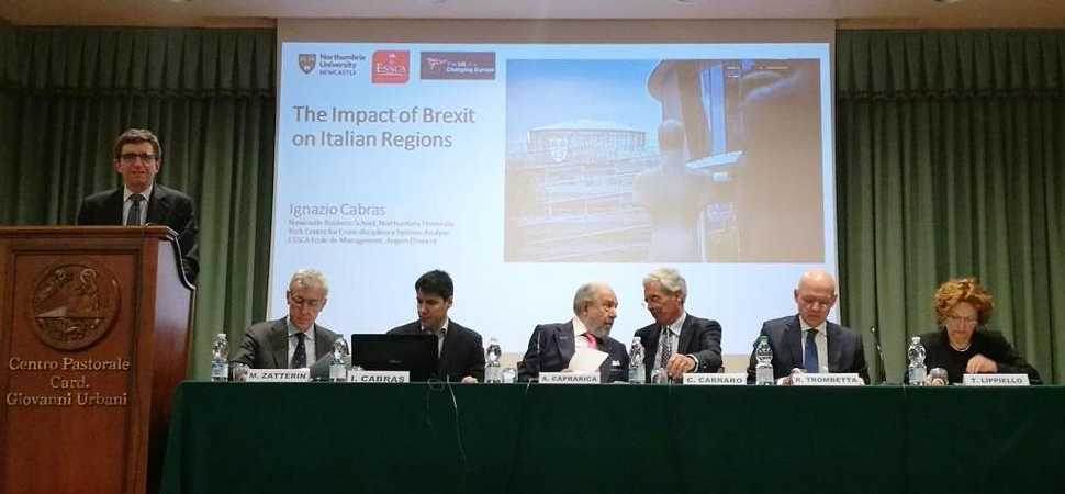 Northumbria University researcher discusses the impact of Brexit in Italy