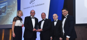 Wales Air Ambulance medics recognised at national Air Ambulance Awards