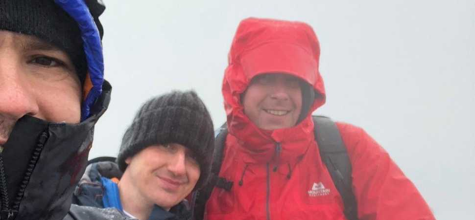 Bolton colleagues help those experiencing ups and downs with charity hike