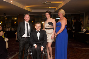 Fletchers sponsor charity ball which raises thousands for spinal injuries centre