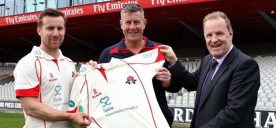 Lancashire County Cricket Club Team Up With Spire Manchester Hospital