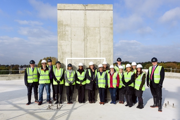 Spire Manchester Hospital marks construction milestone at Didsbury site