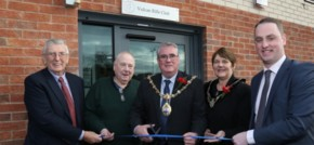 St. Modwen marks official opening of the Vulcan Rifle Club, Newton-le-Willows