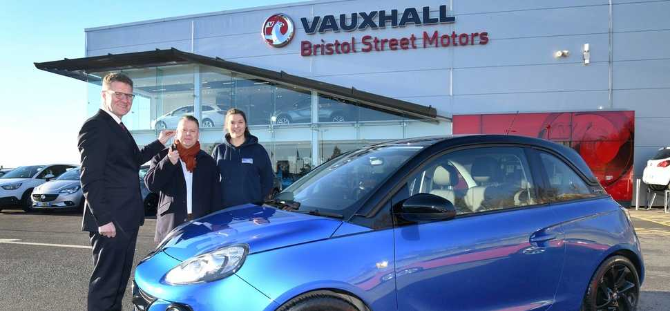 Local man starts a fuel-filled year with car raffle win