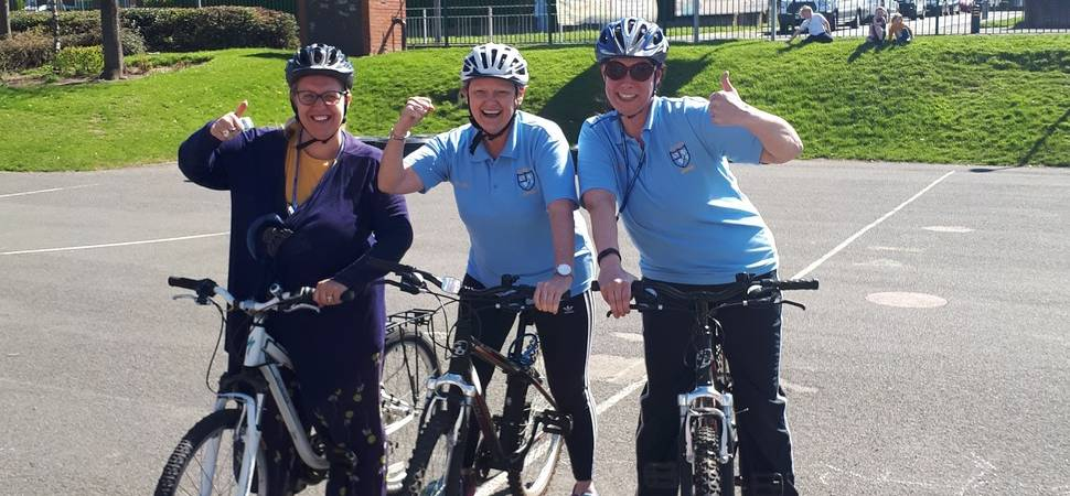 Free bike riding lessons for families in South Tyneside and Sunderland
