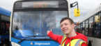 Bus fanatic teenager treated to ultimate day out