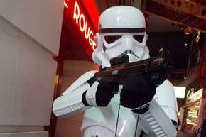 The Printworks Manchester commemorates Star Wars on 6th July