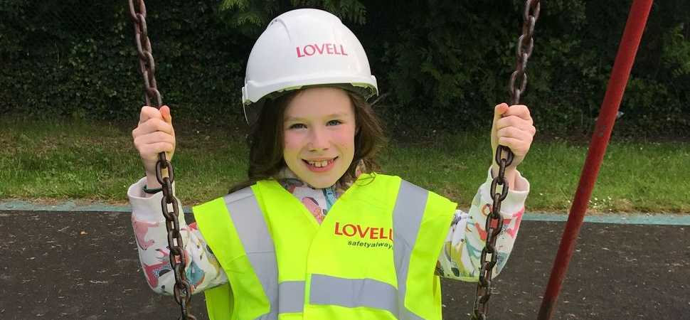 House builder Lovell urges children to play in playgrounds not on building sites