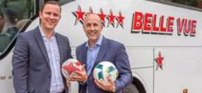 Coach hire firm Belle Vue scores with inspiresport