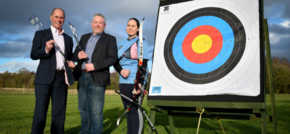Sponsorship boost for junior archer Katie