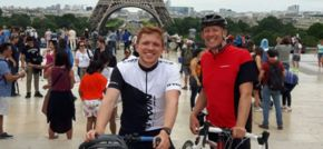 Merseyside business leader completes gruelling charity cycle