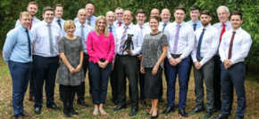 Skies the limit for Steven Hunt & Associates as they mark 30th anniversary