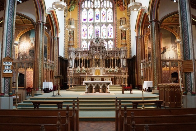 Stonyhurst Altar Refurbishment Project Receives High Praise