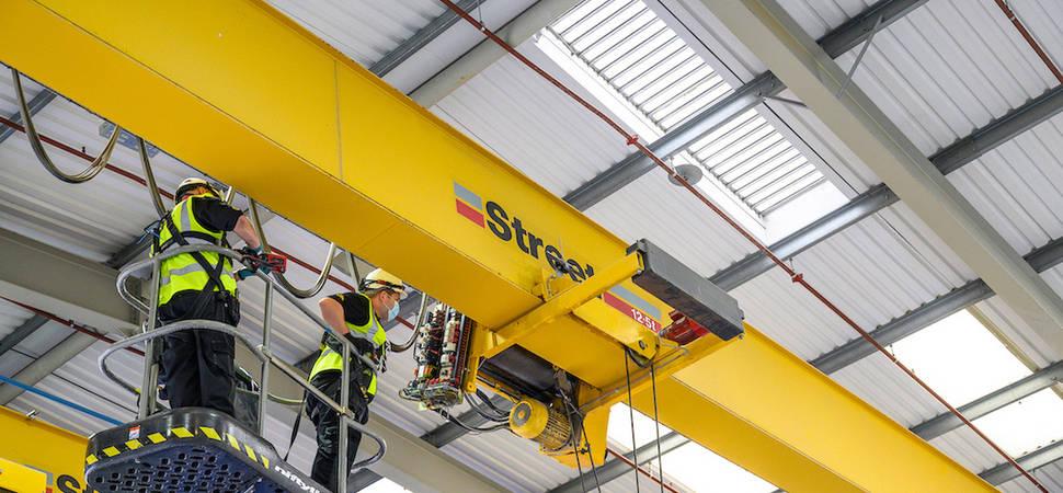 CoreRFID delivers bespoke rebrand solution for crane inspection firm
