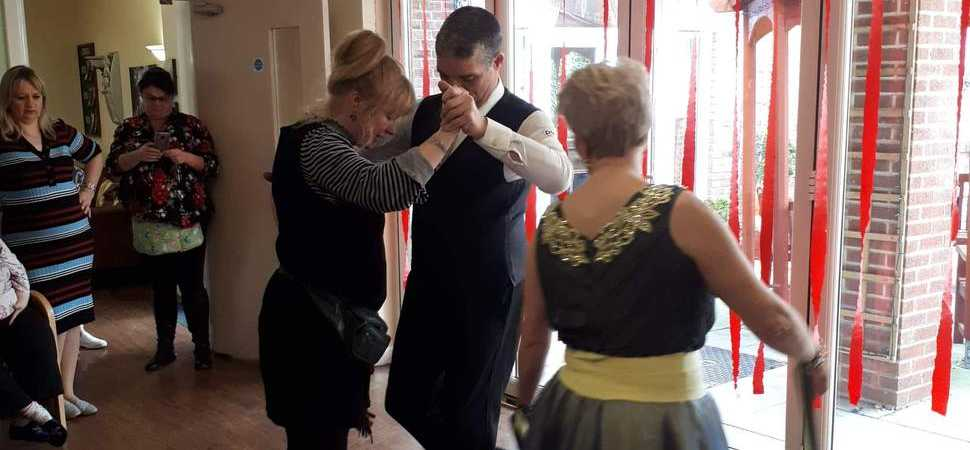 Strictly Come Dancing Comes To Bridlington Care Home