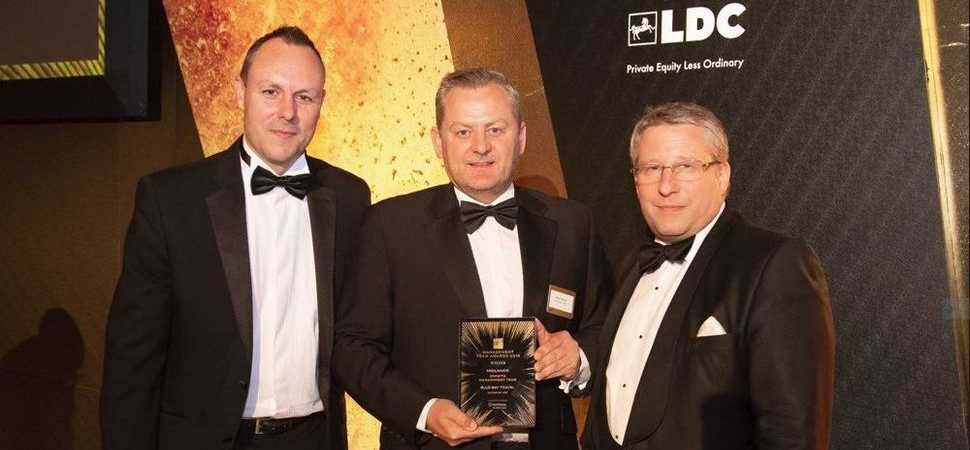LDC backed Blue Bay Travel land Midlands industry Award