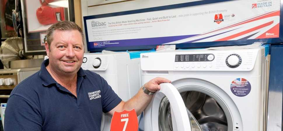 Heywood retailer flies the flag for British manufacturing