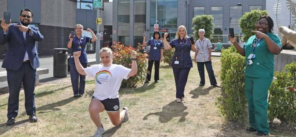 Online booking platform co-creates free digital fitness platform for NHS staff