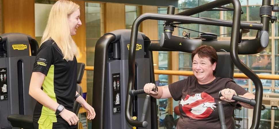 Norwich Veteran thanks Duncan Bannatyne for health club membership