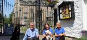 Dog-friendly Kirkby Lonsdale inn & restaurant pledges support to animal charity