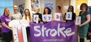 Sunny Thinking Raises £1700 For The Stroke Association