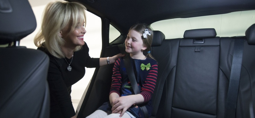 Pierce puts mumpreneur in the driving seat with PLUSH luxury car accessories