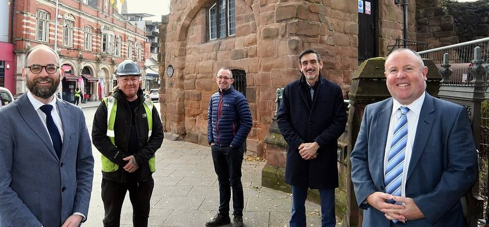 Works starts on unique city restoration in Coventry