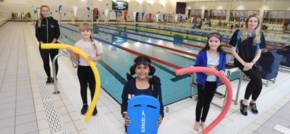 Children benefitting from Covid-safe swimming programme