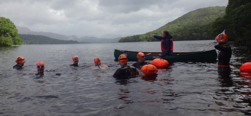 Swallows and Amazons adventure for Lakes' swimmers