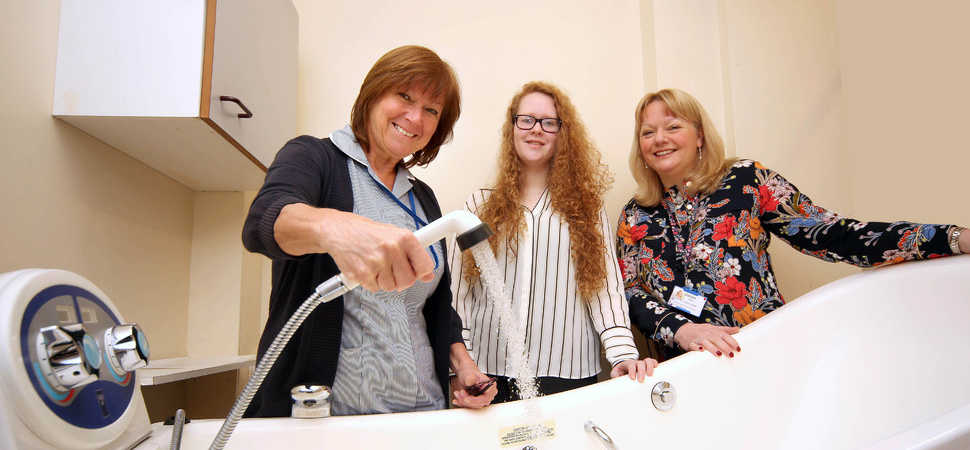 Flintshire chemicals plant helps Wrexham hospice revamp patient bathroom