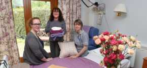 Flintshire chemicals plant helps hospice with bedroom revamp