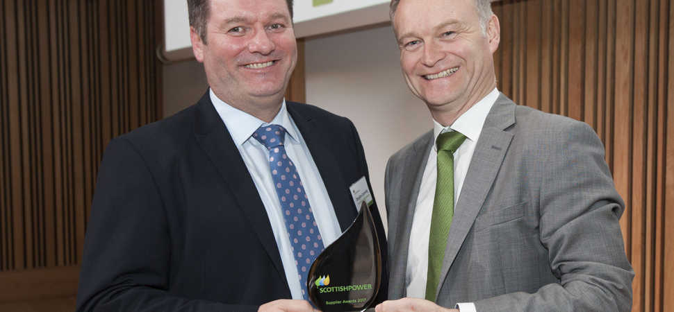 Systal Recognised by ScottishPower at Glasgow Awards evening