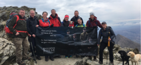 TalkTalk team scale Snowdon for Broughton House