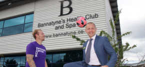Bannatyne Tamworth supports charity football match in aid of pancreatic cancer