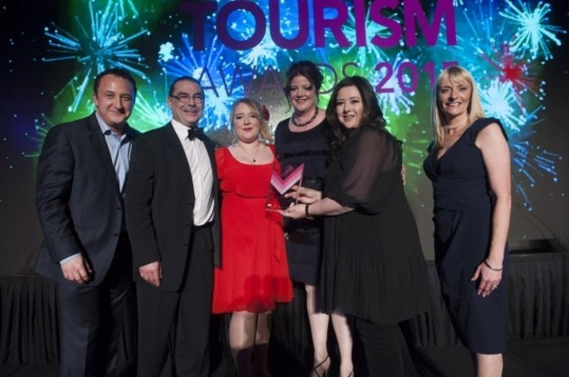 Delifonseca awarded Taste Liverpool at Liverpool City Region Tourism Awards 2015