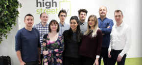 Newly appointed team at High Street TV