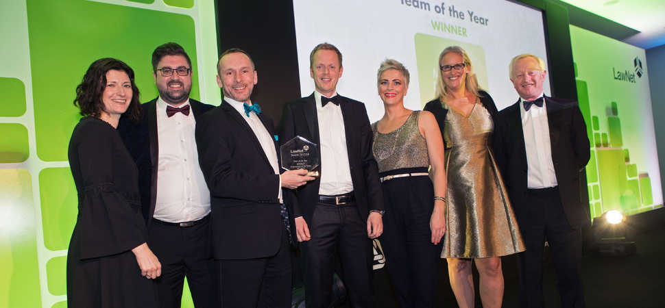 Northwest law firm wins Team of the Year Award