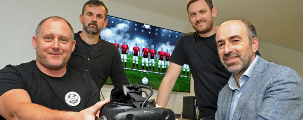 Alexander Knight & Co accountants advise innovative startup football VR firm