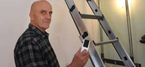 Expanding electric loft ladder firm reaching new heights