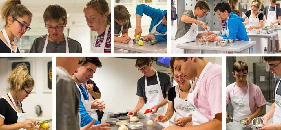 Free Interactive Cooking Class for Teenagers