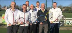 James helps tennis club claim county title