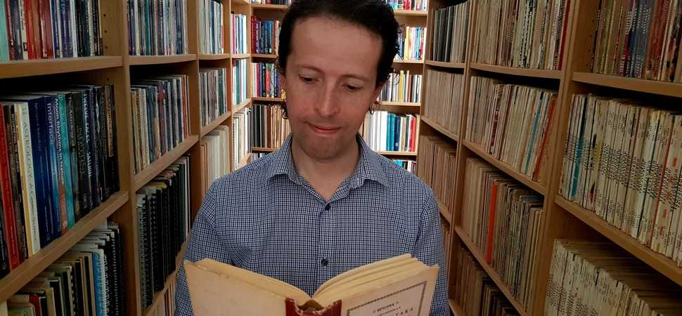 Researcher spends over 20 years creating library on astrology