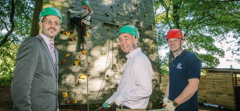Tim Farron MP is 'On the Ropes' in the Live for Today Challenge