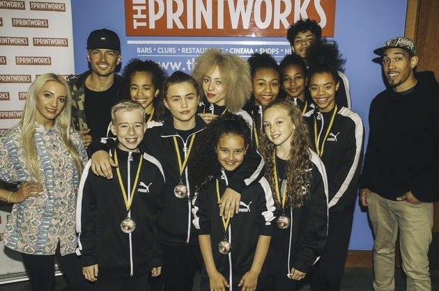Stretford Group Announced As Winners of The Printworks Street Dancer 2015