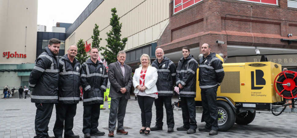 Liverpool BID Company introduces new £250,000 cleansing team for levy payers!