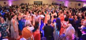 Having a ball Bollywood style
