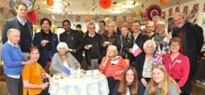Eye care home welcomes French visitors to celebrate 30 years of twinning