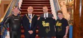 Volunteer to swim 15 km in aid of Lord Mayors Charity, the Choir With No Name