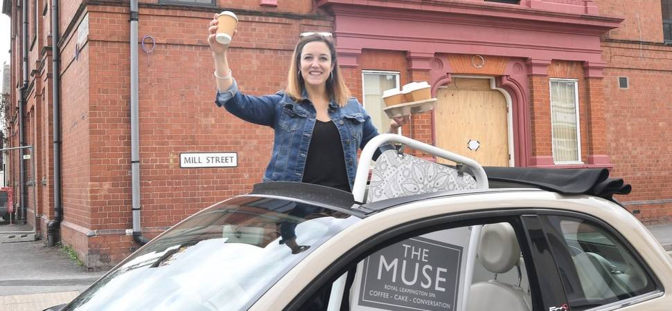 Leamington coffee house in expansion drive